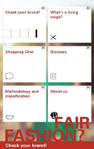 Fair Fashion? screenshot 0