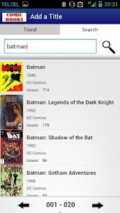 Comic Books Collector VE screenshot 5