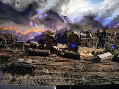 Bombardement op station I