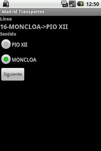 Madrid transportes screenshot 3
