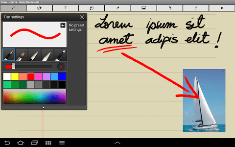 Journal Notes Multimedia screenshot 19