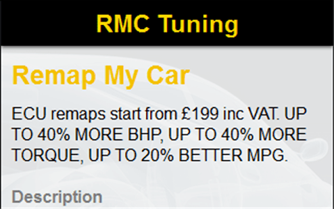 RMC Tuning – The official RMC Tuning App  Car remap and DPF removal