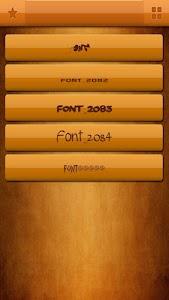 Free Fonts for Samsung screenshot 1