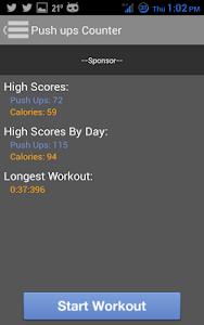 Push Ups Counter screenshot 3