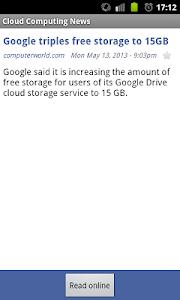 Cloud Computing News screenshot 2