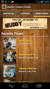 Muddy Country Radio screenshot 1