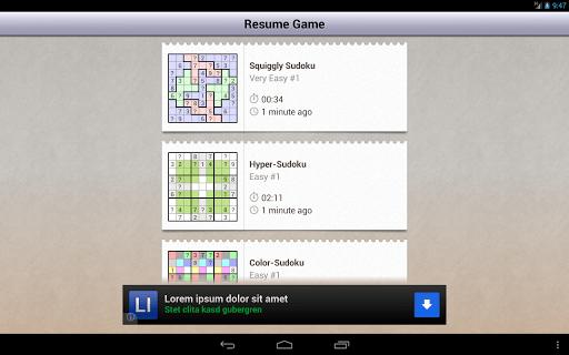 Andoku Sudoku 2 Free screenshot 11