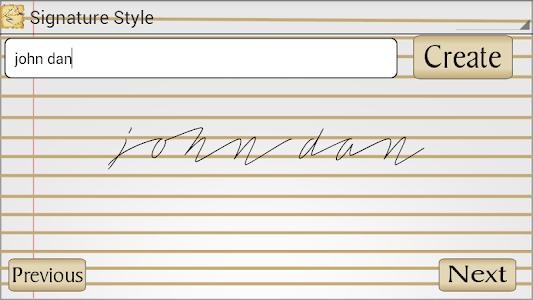Signature Style screenshot 0
