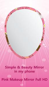 Pink Makeup Mirror Full HD screenshot 0