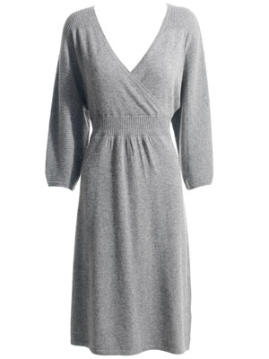 Monsoon Grey Sweater Dress