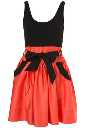 Cute Feminine Casual Fairtrade Scoop Black Dress by Annie Greenabelle at Topshop