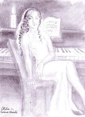 Enigma Otiliei - Otilia si pianul ei