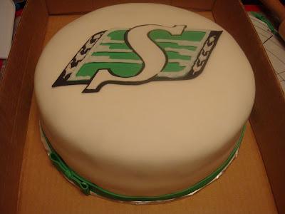 Saskatchewan Roughriders Cake(s) (4/5)