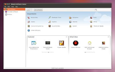 Ubuntu Software Center 10.10