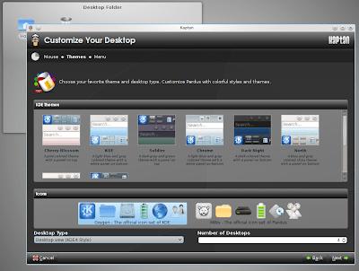 Pardus 2011 screenshots