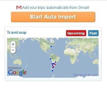 Tripit se integra con Gmail