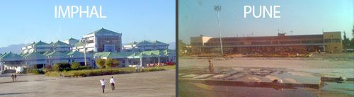 Imphal/Pune Airport