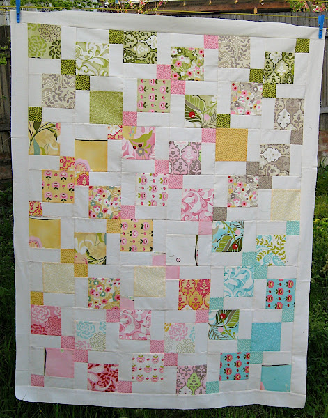 Teresa's Disappearing Nine Patch Quilt