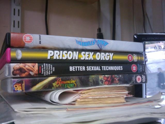 Some randome DVDs