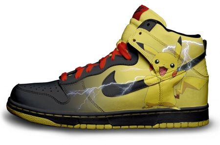 Gambar : Nike-shoes-design-pikachu