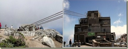 Cableways at top Table Mountain Cape Peninsula South Africa
