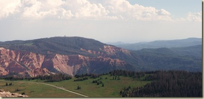 02 View SW into Cedar Breaks NM from Brian's Head Dixie NF UT