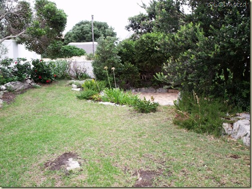 Front yard at Anchors Rest B&B Hermanus Western Cape South Africa