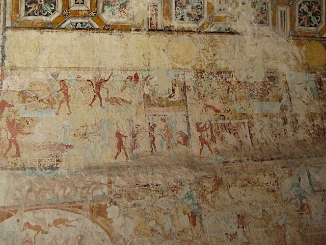 Frescos de la capilla abierta de Actopan