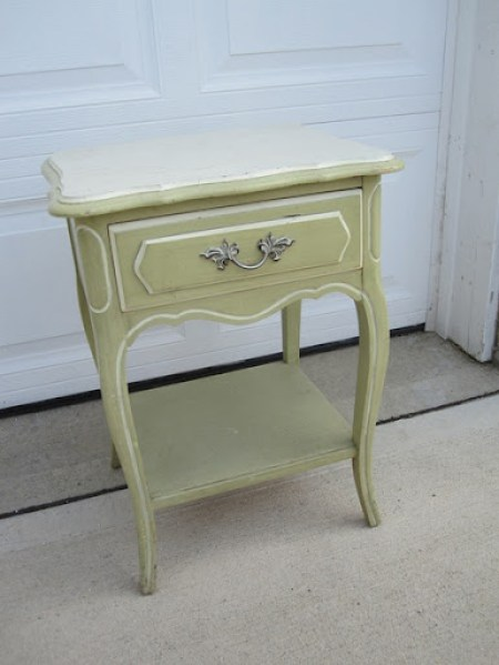 French Provincial Nightstand 2
