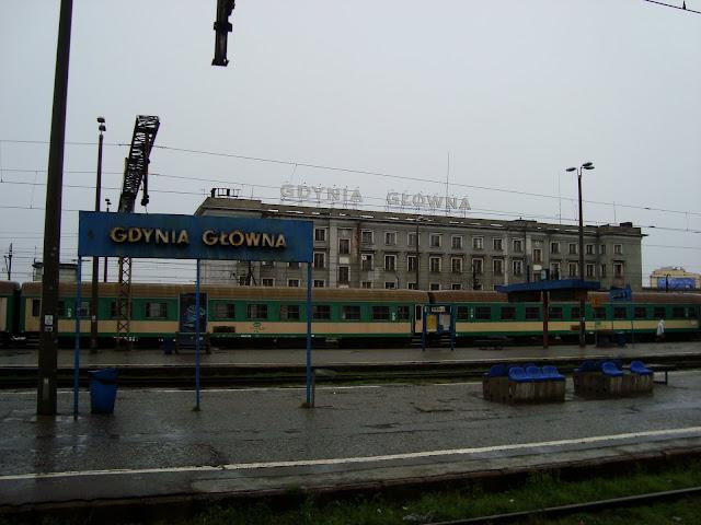 Budynek dworca PKP Gdynia Główna