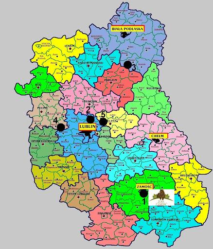 Zwierzyńce województwa lubelskiego