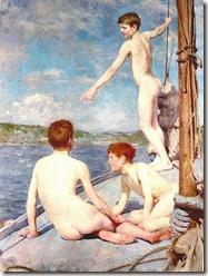 450px-Tuke,_Henry_Scott_(1858–1929),_'The_Bathers'