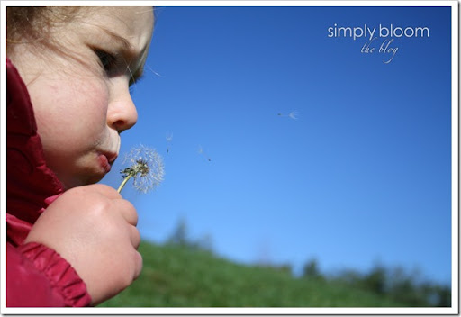 Blowing weeds