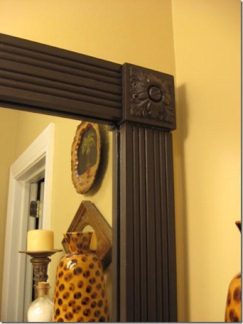 framed mirror corner blocks