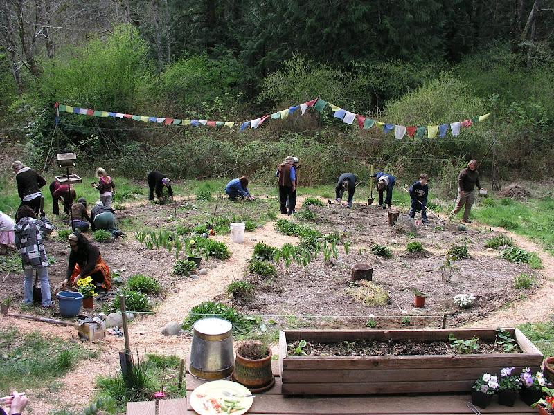 medicine wheel garden 2010