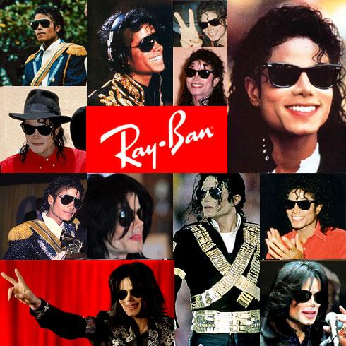Modelo Ray Ban Aviador usado por Michael Jackson
