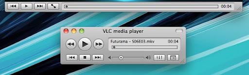 screenshot vlc-1.1.8 for Mac OS X