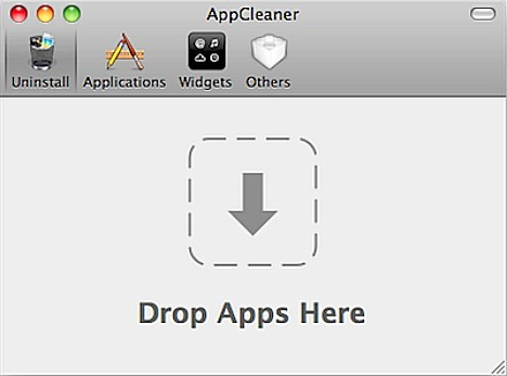 AppCleaner - Drop Apps Here