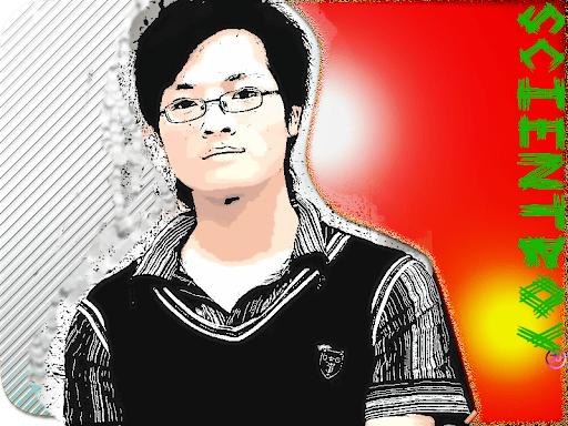 avatar of my nephew, designed by me.