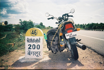 village is 200 KM