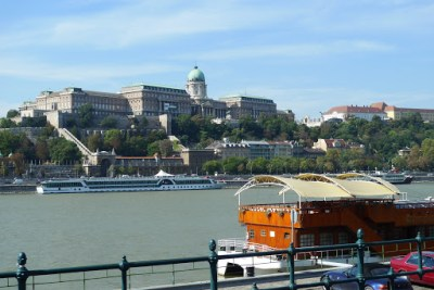 "Buda ""Castle"". View from Pest"