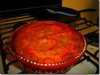 Agrega la salsa y revuelve