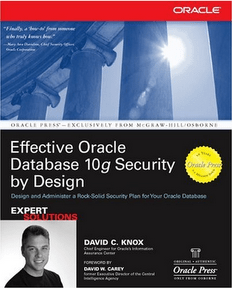 EffectiveOracleDatabase10gSecurityByDesign