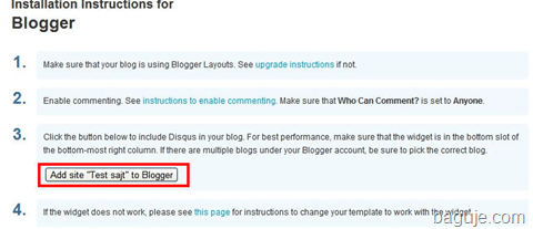 blogger disqus