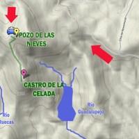 Ruta del Pozo de las Nieves al Castro de la Celada. La linde de Guadalupe y Cañamero
