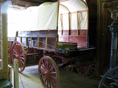 Civil War Ambulance Wagon