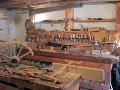 Vintage carpentry tools