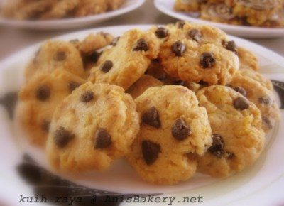 Chocolate Chip Cornflakes Cookies