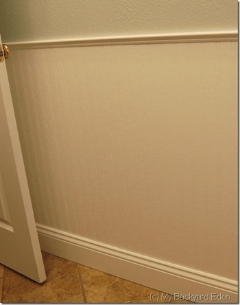Graham and Brown beadboard wallpaper