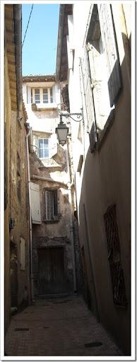 Narrow street in Agde